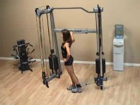 Standing Cable Hip Flexion   Exercise com