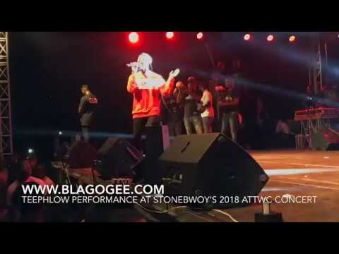 Stonebwoy, Samini,  Sarkodie, Kwaw Kese Performance At 2018 Ashiaman Concert