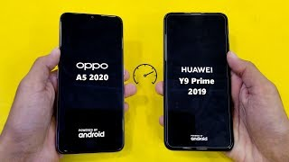 Oppo A5 (2020) vs Huawei Y9 Prime (2019) - Speed Test