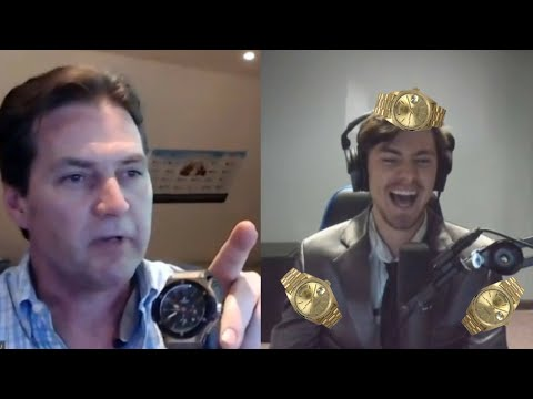 Craig Wright crashed my live stream | Surprise Interview
