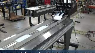 Superior-PHS: Maxim Chipboard Feeder and Collating Base. Automate Your Wrapping and Banding Today!