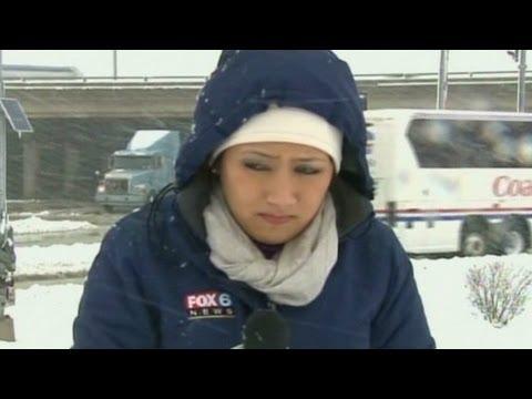 Honest weather reporter: 'It sucks here'