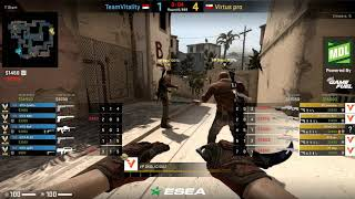 ESEA MDL SEASON 31 EUROPE VIRTUS PRO VS VITALITY MIRAGE CSGO 2019