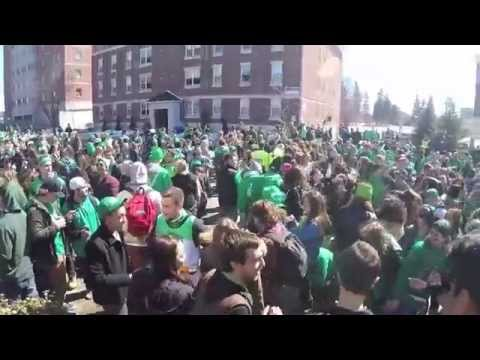 Laurier St. Patricks Day 2015 - YouTube
