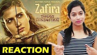 Thugs Of Hindostan First Look Reaction   Fatima Sana Shaikh As Feisty Zafira