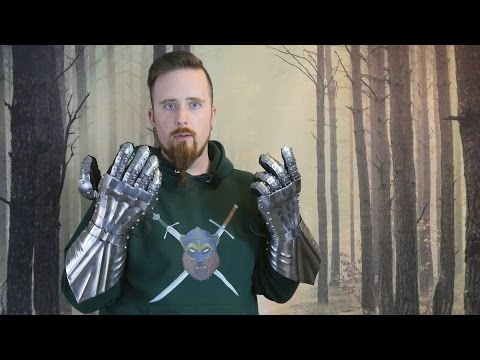 Review: 15th century gothic gauntlets by Darksword Armory