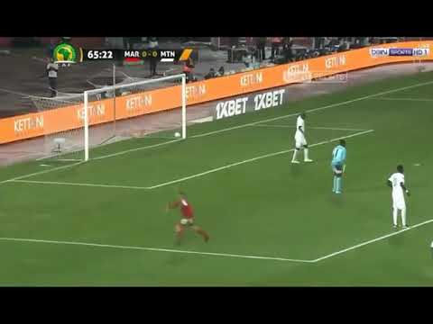 Highlights Of Goals From CHAN 2018. Morocco Vs Mauritania.