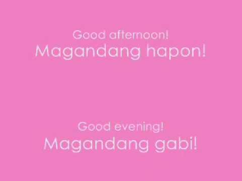 Basics: ★matuto - to learn... - Fun to Learn Tagalog ...