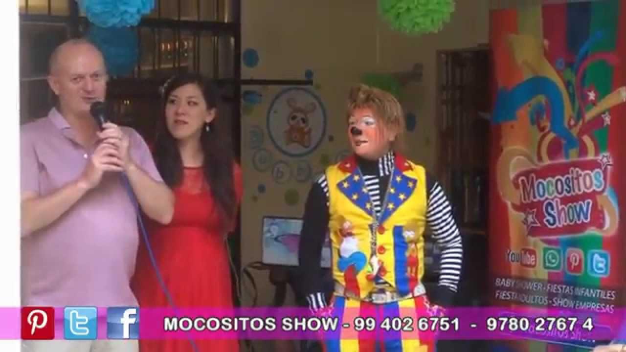 Show Baby Shower Show De Payasos Lima Peru Youtube