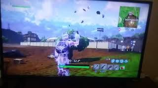 My best fortine kill ever on xbox.