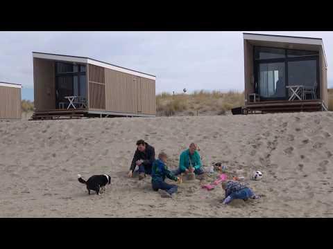 Strandhuisje Kijkduin - NIEUW Slapen op het strand van Zuid-Holland