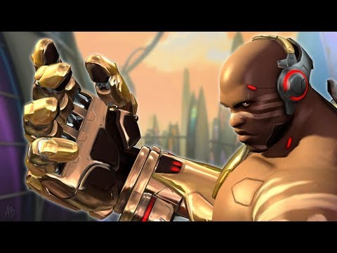 Doomfist being played by someone who sounds like Doomfist [Overwatch]