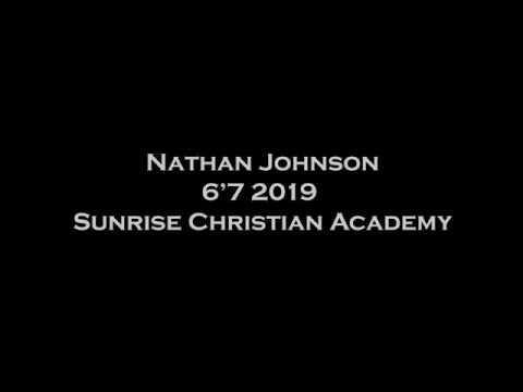 Nathan Johnson. Sunrise Christian Academy.