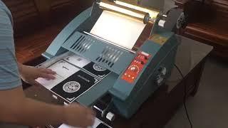 FL-380 Digital Hot Stamping Machine Operation