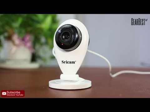 Sricam 720P H.264 Wifi IP Camera Wireless ONVIF CCTV Security - Gearbest.com