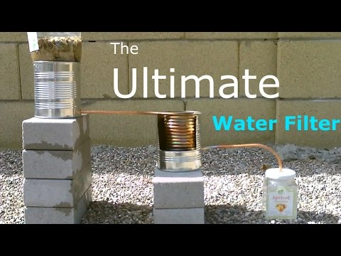 how to build a water distiller at home