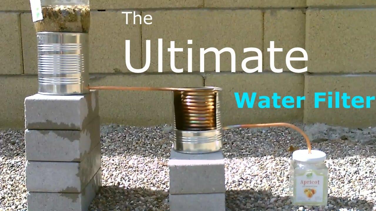 Ultimate DIY Water Filter!