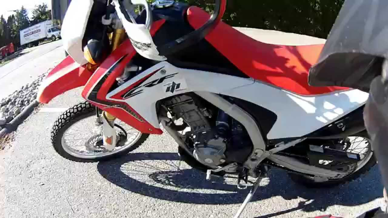 Crf250l review at 20 000 km s plus modifications