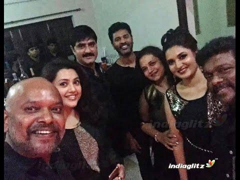 Director Shankar, Prabhu Deva, Meena and more attend 90's reunion | Venkat Prabhu , KS.Ravikumar