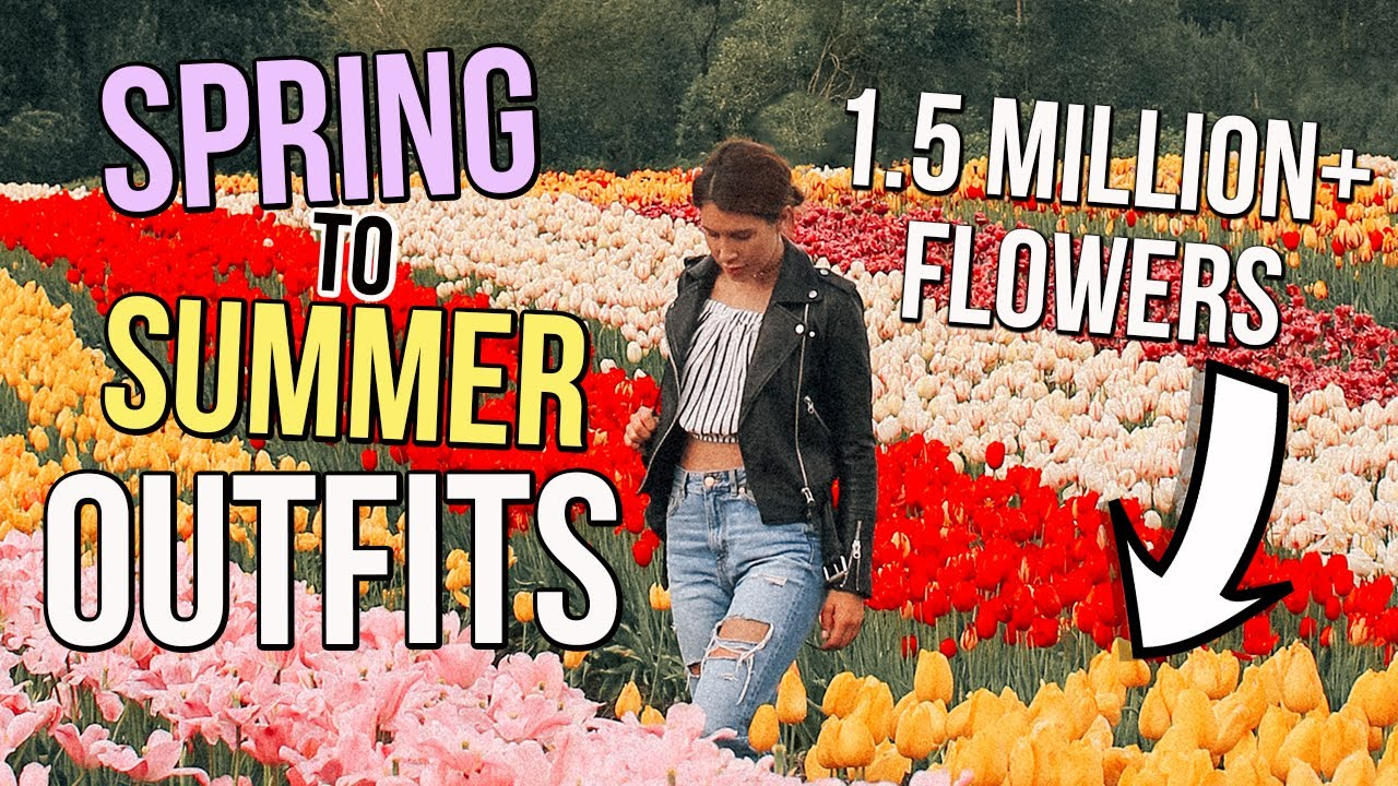 [VIDEO] - Spring To Summer Go To Outfits 8
