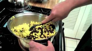 Saffron Rice With Black Beans And Corn