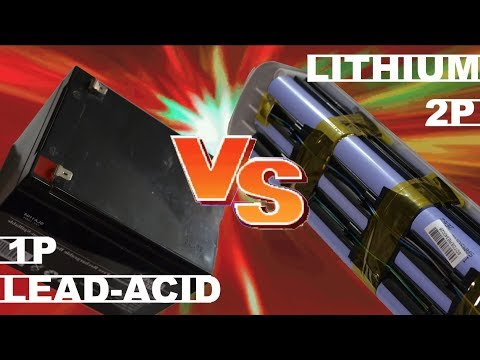 Lead Acid VS Lithium eBike