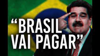 Venezuela CULPA O BRASIL Por ATAQUE (Felipe Dideus)