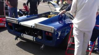 Lola T70 MkIII Start & Revs Sound