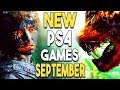 Top 14 BIG PS4 Games Coming in SEPTEMBER 2018