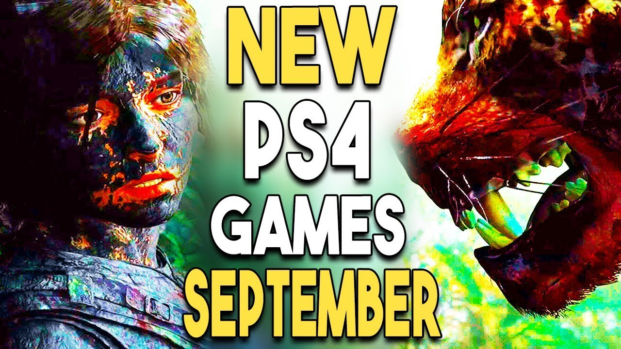 Top 14 Big Ps4 Games Coming In September 2018 Youtube