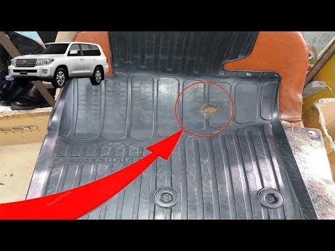 Как заклеить коврик в машине