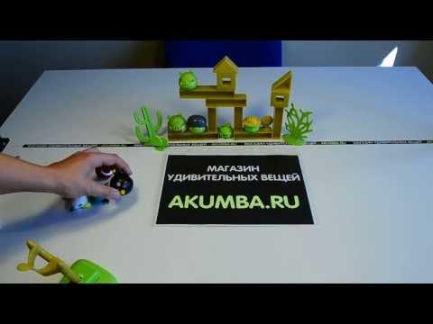 Идеи подарков: настольная игра Энгри бердз Рио / Angry Birds Rio (видео обзор)
