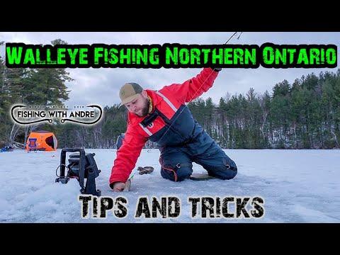 WALLEYE FISHING NORTHERN ONTARIO- Tips And Tricks