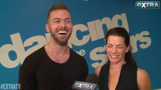 Nancy Kerrigan & Artem Chigvintsev - Extra TV Interview - DWTS