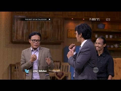 The Best of Ini Talk  Belajar Silat Bareng Yayan Ruhian, Sule Andre Gagal Fokus