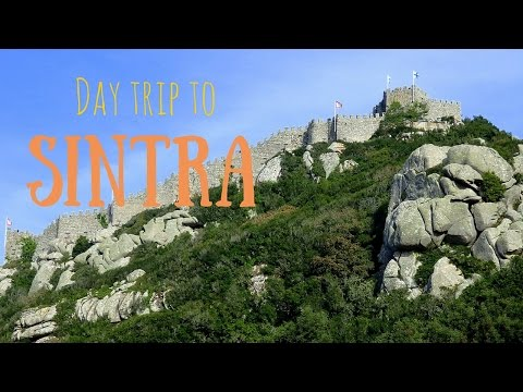 Visiting the Castle of the Moors in Sintra, Portugal