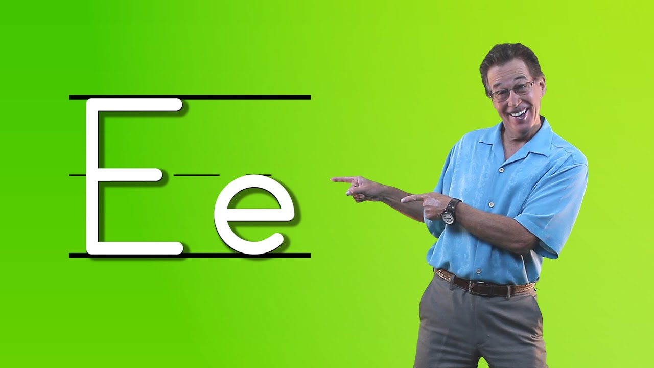 Learn The Letter E Let s Learn About The Alphabet