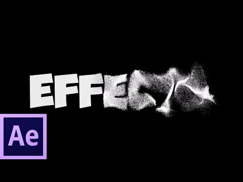 Sand Text Tutorial | Adobe After Effect CS6