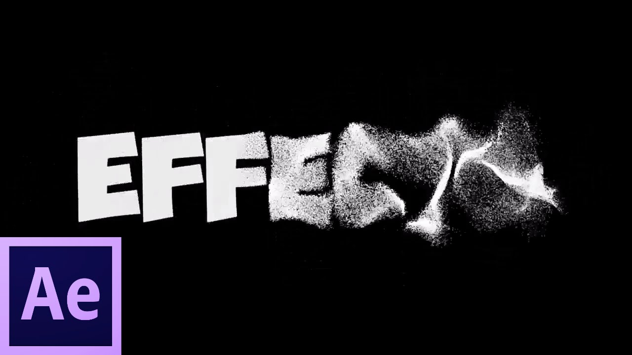 Sand Text Tutorial Adobe After Effect Cs6 Youtube