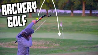 Archery Golf Challenge | GM GOLF