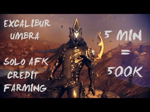 Warframe Solo AFK Lndex Credit Farming | 500K In 5 Min