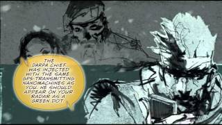 MGS 2 Bande Dessinee Digital Novel Walkthrough HD - MGS1 Part1 (MetalGearSolidTV.com)