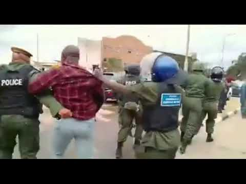 PF Cadres Arrested  at Lusaka Magistrate Complex By Zambia Police