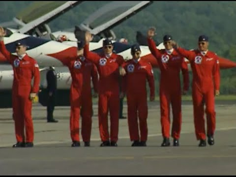 Behind the Scenes with the US Air Force Thunderbirds