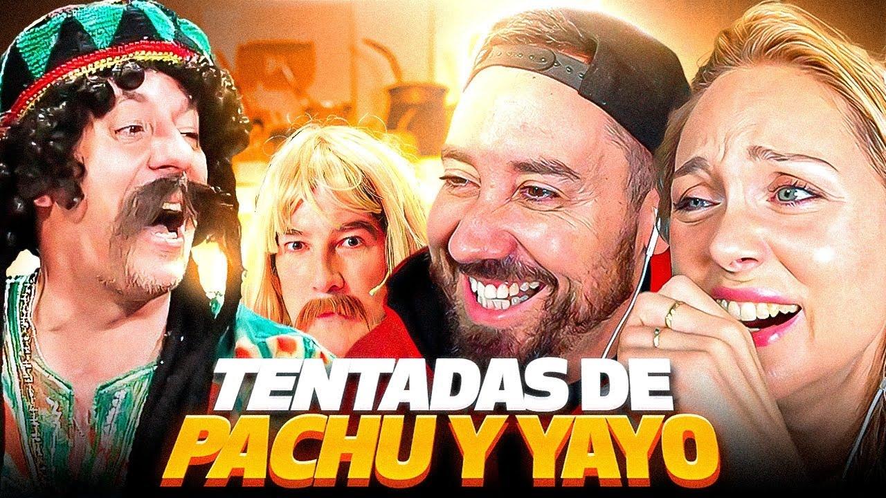 SUPER TENTADAS DE YAYO Y PACHU!! Reaccionamos a PELIGRO SIN CODIFICAR Ft DalsiFilms