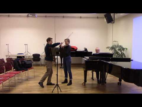 Max Bruch Concerto - Emmanuel Borowsky Masterclass in Iceland