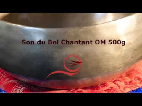 bol tibetain chantant om 500g