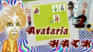 AVATARIA HACK - Appearance hack + Stylist hack + Relationship hack!! (avataria cheats #2) || Alien