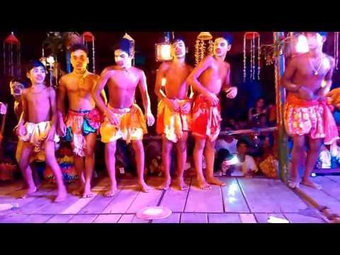 Ramayan.  Banara party scene, Padaraisuni, surada ganjam