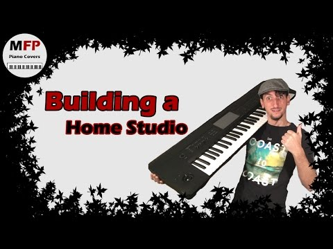 Learning How To Build  A Home Recording Studio imac